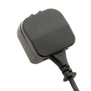 Europe to UK Plug Adaptor - Black