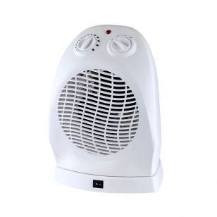 2kW Oscilating Fan Heater with Thermostat