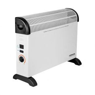 2kW Convector Heater with Thermostat and Turbo Fan