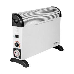2kW Convector Heater with Thermostat and Timer