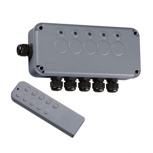 IP66 5 Gang Remote Switch Box