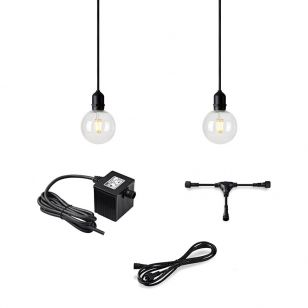 Garden 24V LED Pendant Lamp Holder - 2 Lights