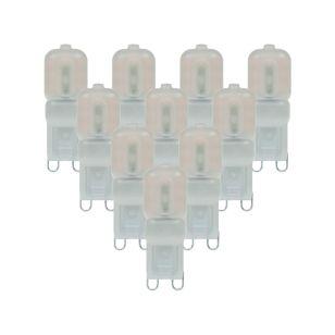 2.5W Warm White LED G9 Capsule -  Pack of 10