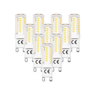 Tagra 3W Warm White Dimmable LED G9 Capsule - Pack of 10