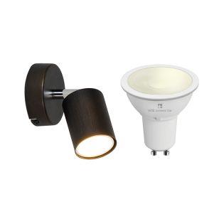 Edit Whitstable 5.5W Warm White LED Smart WiFi  Single Spotlight - Bronze