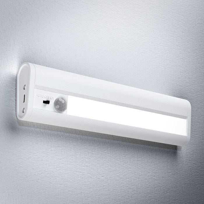 Ledvance Linear Led Battery Operated Under Cabinet Light With Pir Sensor 200mm White Lyco