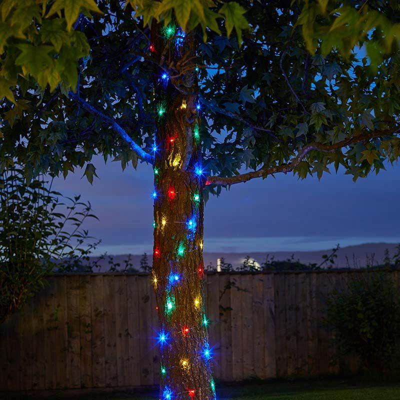 Firefly Multi Colour Solar LED Micro