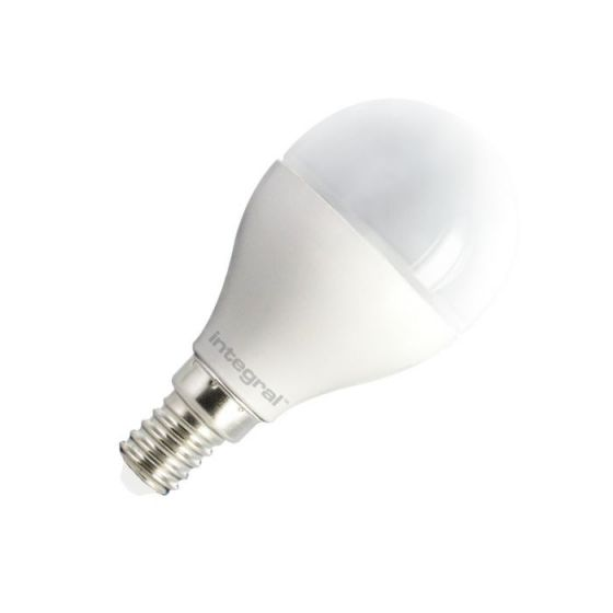 Integral 6W Warm White LED Opal Golf Ball Bulb - Small Screw Cap