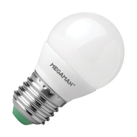 Megaman 3.5W Warm White LED Golf Ball Bulb - Screw Cap