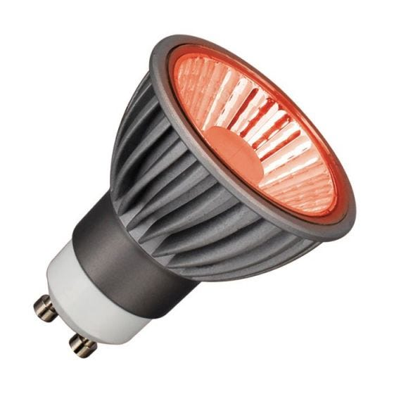 Deltech 6W Red Dimmable LED GU10 Bulb - Medium Beam