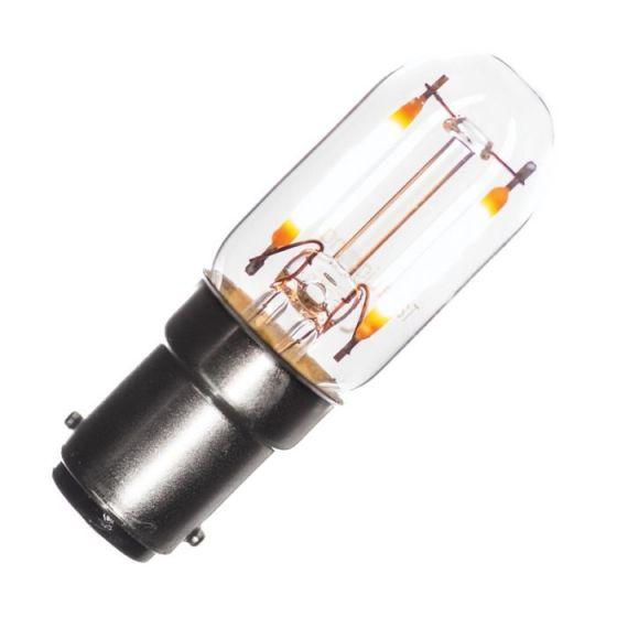 Tagra 1.6W Very Warm White Dimmable Decorative Filament Pygmy Bulb - Small Bayonet Cap