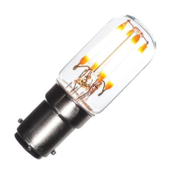 Tagra 2.4W Very Warm White Dimmable Decorative Filament Pygmy Bulb - Small Bayonet Cap