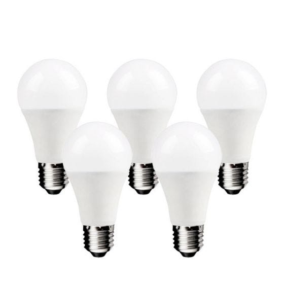 Lyco 13W Warm White LED GLS Bulb - Screw Cap - Pack of 5
