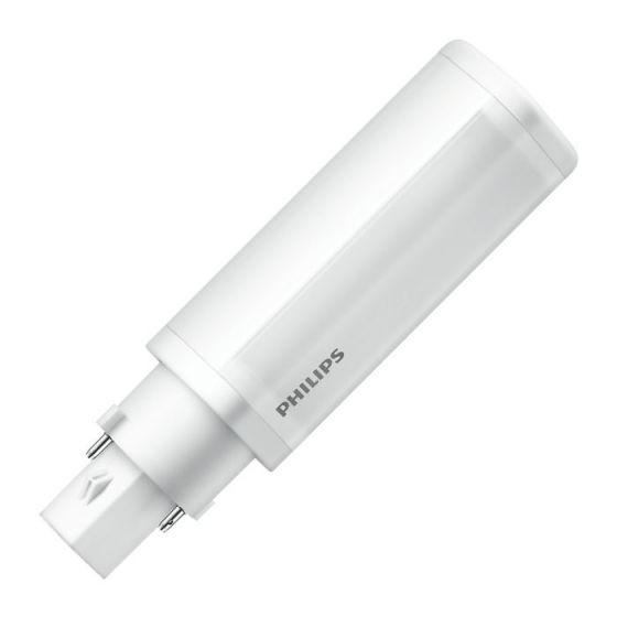 Philips Corepro 4.5W Cool White LED 2 Pin PLC G24d-1 Bulb