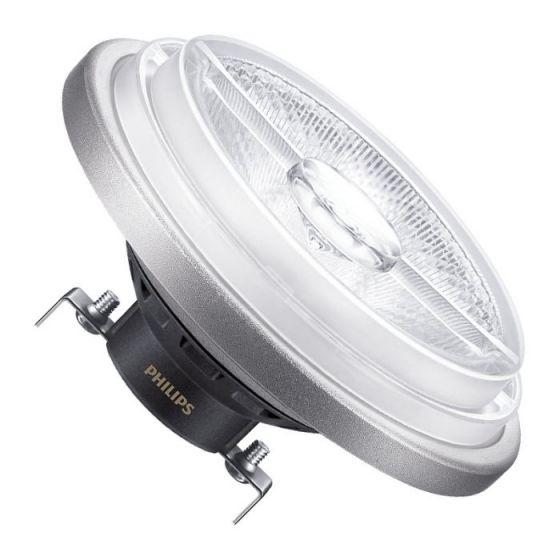Philips 11W Warm White Master LEDspot Dimmable AR111 Reflector - Flood Beam