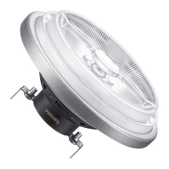 Philips 11W Warm White 3000k Master LEDspot Dimmable AR111 Reflector - Spot Beam