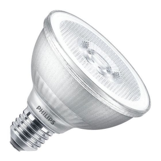 Philips Master LEDspot 9.5W Cool White Dimmable LED PAR30S Reflector Bulb - Medium Beam