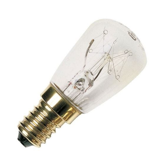 25W Clear Oven Bulb - S.Screw