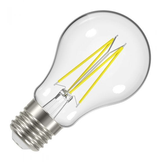 Value 6.2W Warm White LED Decorative Filament GLS Bulb - Screw Cap
