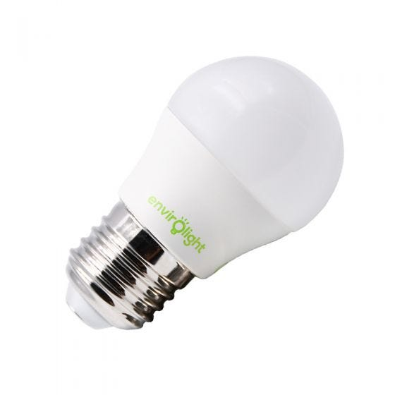 Envirolight 5W Warm White Dimmable LED Golfball Bulb - Screw Cap