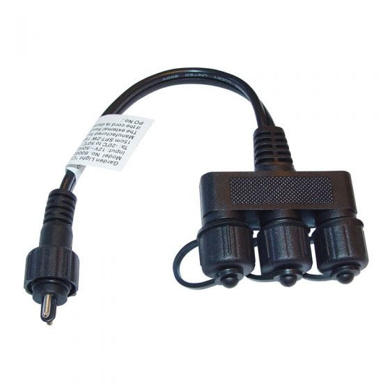 Techmar 3 Way Connector for Plug and Play Lighting