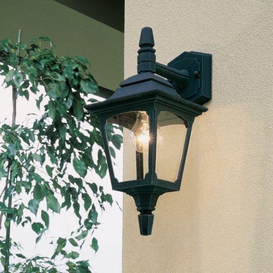 Elstead Chapel Mini Coach Lantern Outdoor Hanging Wall Light