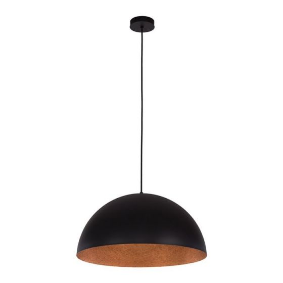 Edit Rondure Ceiling Pendant Light - 350mm Black and Copper