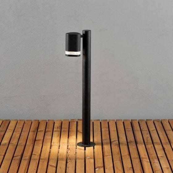 Konstsmide Modena Outdoor Post Light - Black