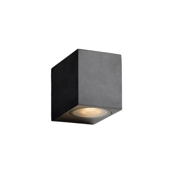 Lucide Zora Square LED Outdoor Wall Light - Black