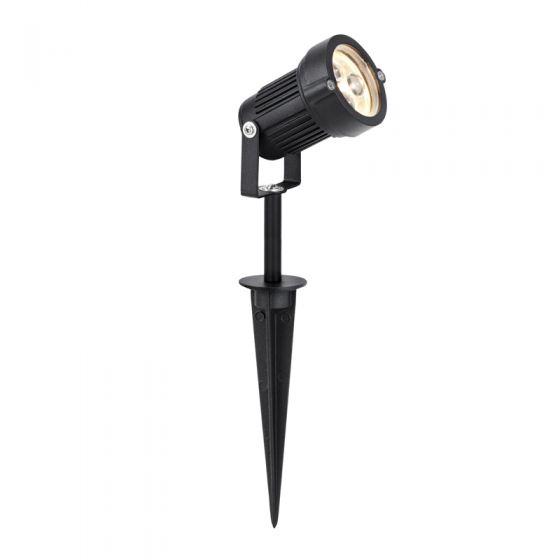 EasyFit 12v Garden Lights - LED Spotlight - Black