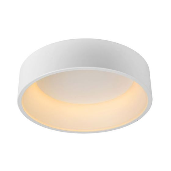 Lucide Talowe 45 Halo LED Flush Ceiling Light - White