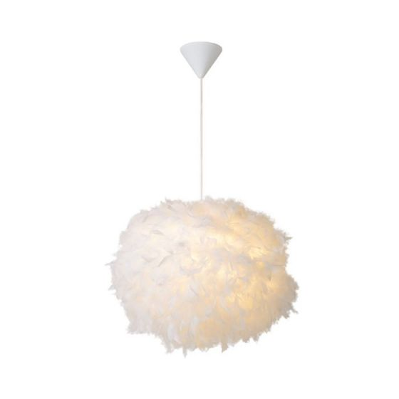 Lucide Goosy Soft Ceiling Pendant Light - White