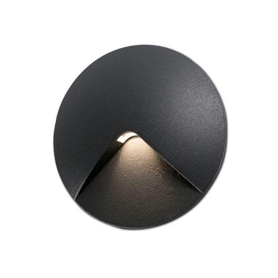 Faro Barcelona UVE LED Outdoor Wall Light - Dark Grey