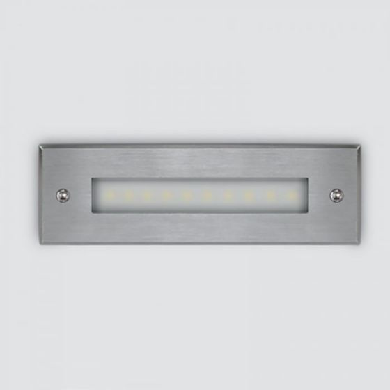LED Coastal Outdoor Wall Light - Stainless Steel
