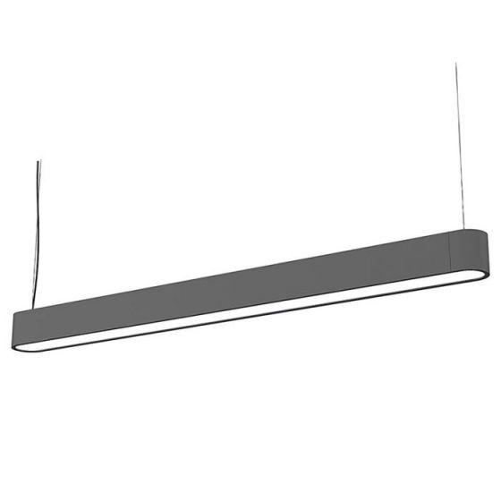 Edit Soft 120 LED Bar Ceiling Pendant Light - Grey