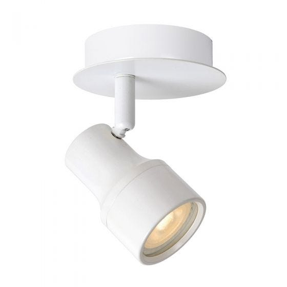 Lucide Sirene Single Spotlight - White