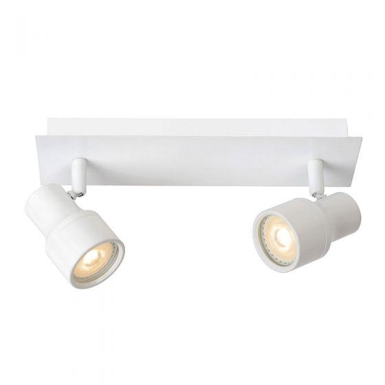 Lucide Sirene 2 Light Spotlight Plate - White
