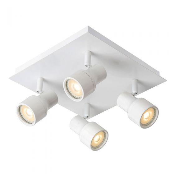 Lucide Sirene 4 Light Spotlight Plate - White