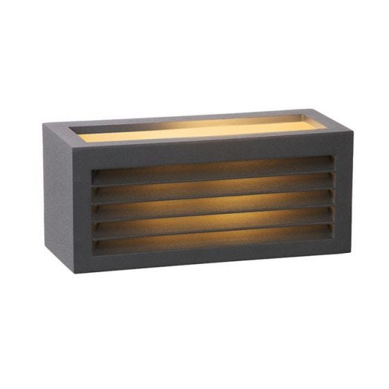 Lucide Dimo Outdoor Up & Down Wall Light - Anthracite