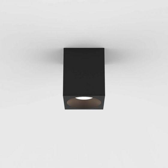 Astro Kos 100 Square LED Ceiling Spotlight - Textured Black