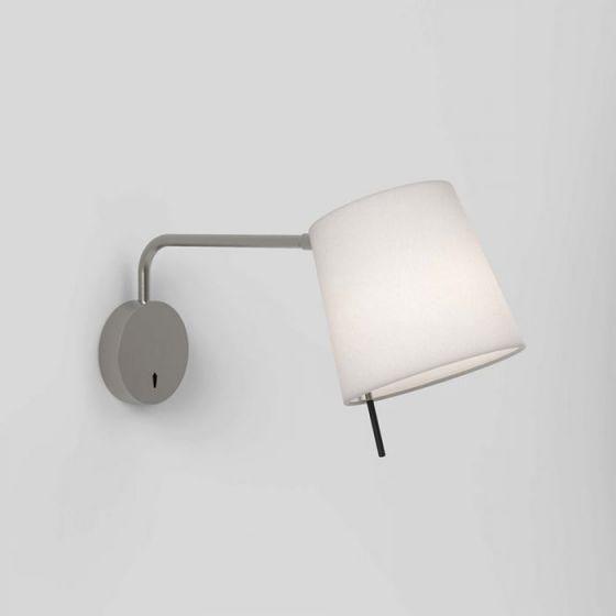Astro Mitsu Swing Arm Wall Light - Light Only - Matt Nickel