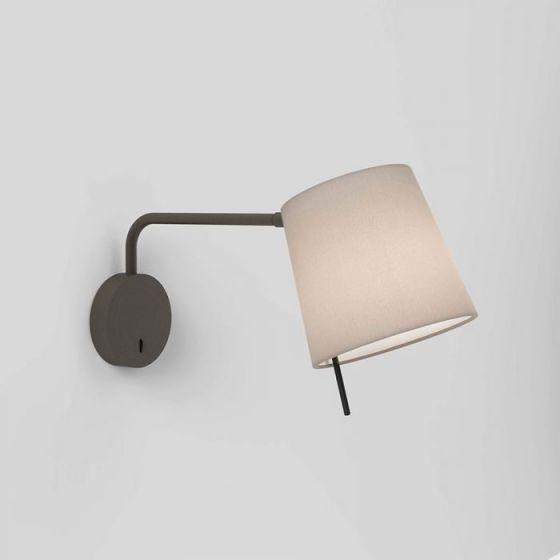 Astro Mitsu Swing Arm Wall Light - Light Only - Bronze
