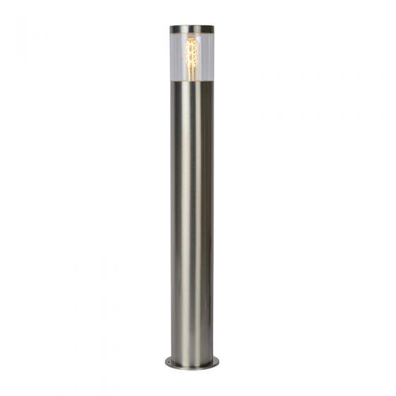 Lucide Fedor Outdoor Bollard Light - Satin Chrome