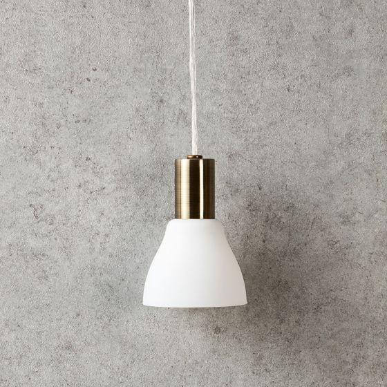 Vero Ceiling Pendant Light - Antique Brass