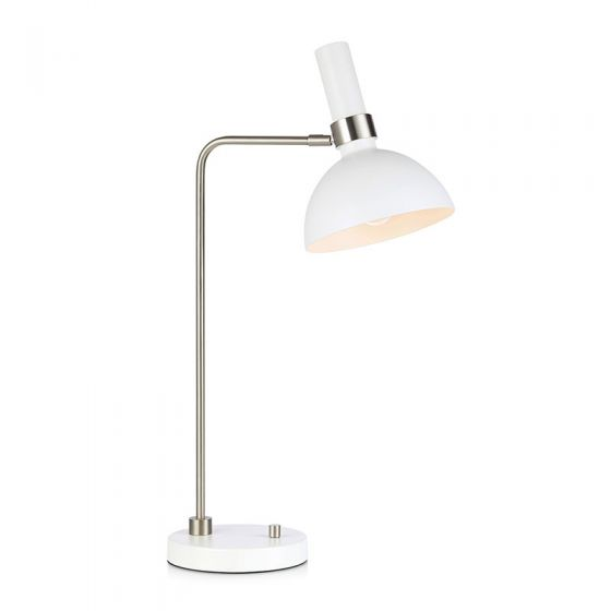 Larry Table Lamp - White