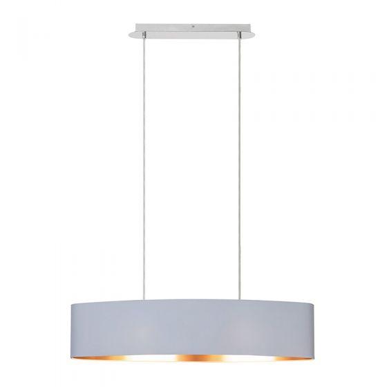 Edit Oxford Bar Ceiling Pendant Light - White