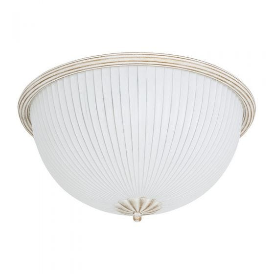 Edit Tycoon Flush Ceiling Light - White