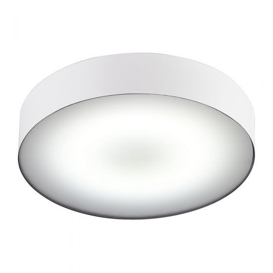 Edit Stadium LED Flush Ceiling Light - White