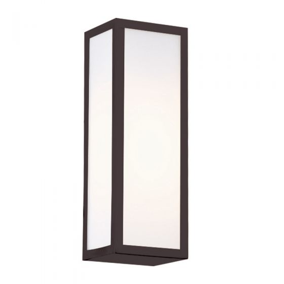 Edit Glaze Flush Wall Light - Bronze