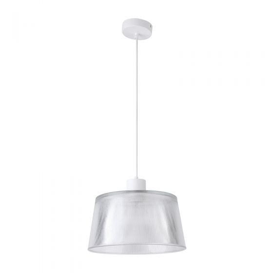 Edit Dusk Glass Ceiling Pendant Light - White